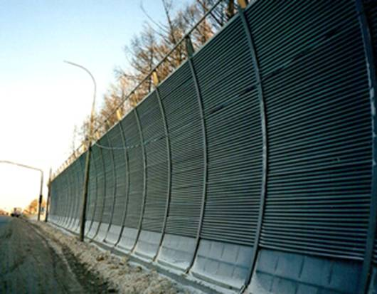Забор для шумоизоляции своими руками 32